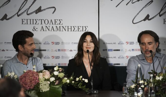 """""""Maria Callas remains a woman who inspires"""" says Monica Bellucci as she declares her love for Greece 4"""