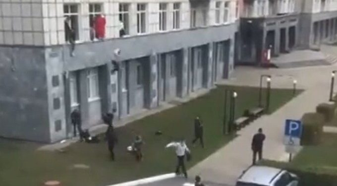 Eight were killed in shooting at Perm State University in Russia, gunman injured in hospital 1