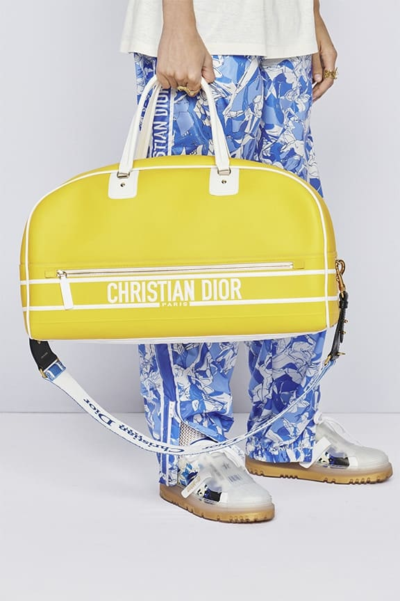 Christian Dior Cruise 2022 Collection Temple of Zeus bowling bag
